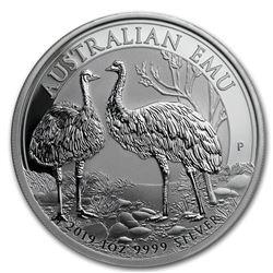 2019 Australia 1 oz Silver Emu BU