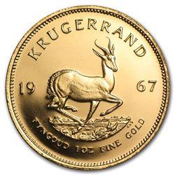 1967 South Africa 1 oz Gold Krugerrand