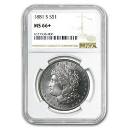 1881-S Morgan Dollar MS-66+ NGC