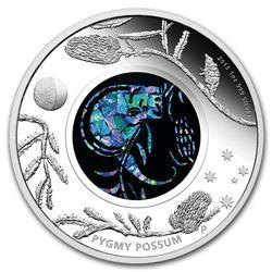 2013 Australia 1 oz Silver Opal Pygmy Possum Proof