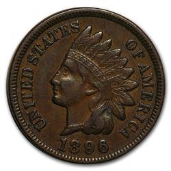 1896 Indian Head Cent AU