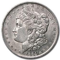 1884-O Morgan Dollar AU