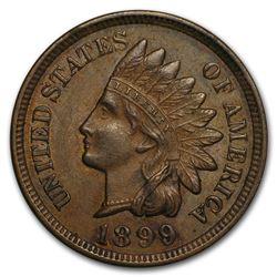 1899 Indian Head Cent AU