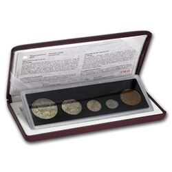 1998 Canada 5-Coin 90th Anniversary of the Mint Proof Set