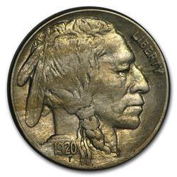 1920-S Buffalo Nickel AU