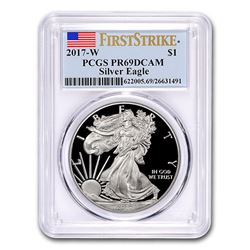 2017-W Proof Silver American Eagle PR-69 PCGS (FirstStrike®)