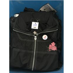 BLACK JACKET BY DAVID SMITH/3 IN 1 FROM THE PAKOLOGY PEOPLE.SIZE M/FITS BIG/TURNS INTO A TOTE