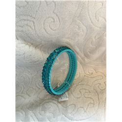 TURQUOISE BLUE BLING BANGLES/**HAS MISSING STONE/**HAVE INCLUDED MISSING STONES…