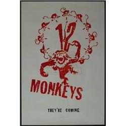 12 Monkeys – Original Vintage Advance One-Sheet Poster – 1219