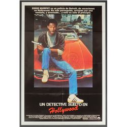 Beverly Hills Cop - Original Vintage Spanish Release Poster – P1244