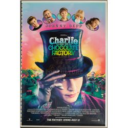 Charlie and the Chocolate Factory – Original Printer's Proof Advance One-Sheet Poster – A75