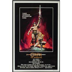 Conan the Barbarian– Original Vintage Advance One-Sheet Poster – 1214