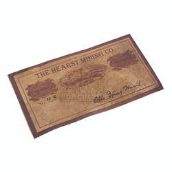 Deadwood (TV) – Hearst Mining Company Business Card – VI689