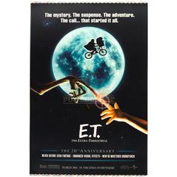 E.T. The Extra Terrestrial – Original Lenticular 2002 Printer's Proof One-Sheet Poster – A195