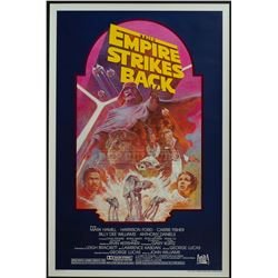 Empire Strikes Back, The – Original Vintage 1982 Release One-Sheet Poster – 1209