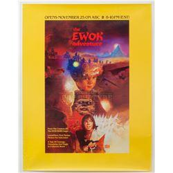 Ewok Adventure, The - Original ABC Television Poster – P1241