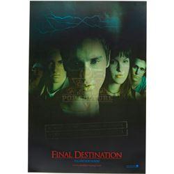 Final Destination – Original Lenticular Advance One-Sheet Poster – A205