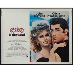 Grease – Original Vintage Half-Sheet Poster – 1220