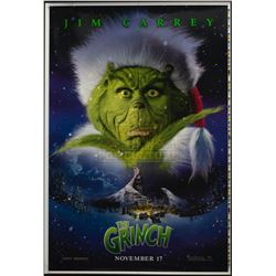 How the Grinch Stole Christmas – Original Printer's Proof Advance One-Sheet Poster – A171