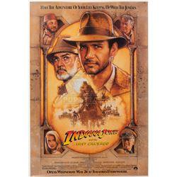 Indiana Jones & the Last Crusade – Original Advance One-Sheet Poster – A47