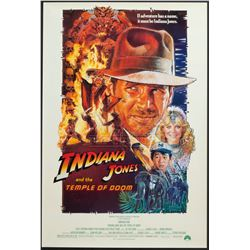 Indiana Jones and the Temple of Doom – Original Vintage One-Sheet Poster – 1204