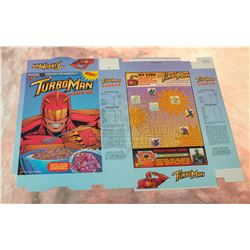 Jingle All The Way - Turboman Cereal Box – A175