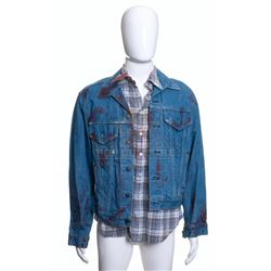 Johnny Handsome – Johnny's (Mickey Rourke) Bloody Jacket & Shirt – VII31
