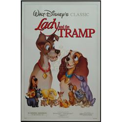 Lady and the Tramp – Original 1986 Release One-Sheet Poster – 1223