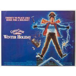 National Lampoon's Christmas Vacation - Original British Quad Poster – P1242