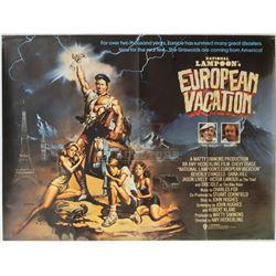 National Lampoon's European Vacation - Original Vintage British Quad Poster – P1246