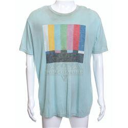 "Pixels - Ludlow (Josh Gad) ""Emergency Broadcast System"" Graphic T-Shirt – A139"
