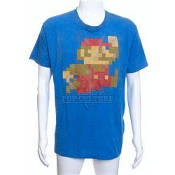 """Pixels - Ludlow (Josh Gad) """"Super Mario Bros."""" Graphic T-Shirt – A144"""