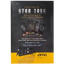 Star Trek (2009) – Original AMC Theatres Gift Cards One-Sheet Poster – A42