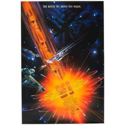 Star Trek VI: The Undiscovered Country – Original One-Sheet Poster – 1225