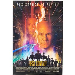 Star Trek: First Contact - Original Double-Sided Advance One-Sheet Poster – P1236