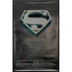Superman the Movie - Original Vintage Advance Mylar One-Sheet Poster – P1243