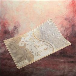 Teen Wolf (MTV) – Prop Beacon Hills Map – A86