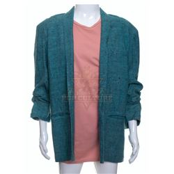 """Timeless (TV) – Rufus Carlin's """"Miami Vice"""" Style Jacket & Shirt – A14"""