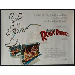 Who Framed Roger Rabbit - Original Vintage British Quad Poster – P1240