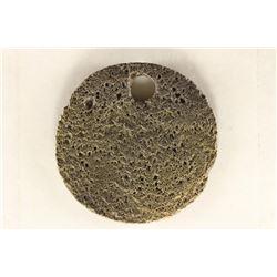 330-1453 A.D. BYZANTINE EMPIRE COIN HOLED
