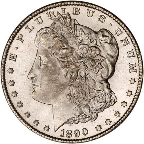 1890-CC Morgan $1 PCGS MS64