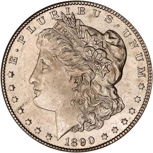 1890-CC Morgan $1 PCGS MS64