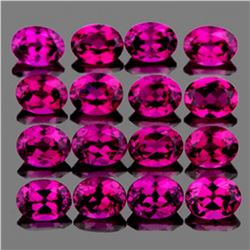 Natural Pinkish Purple Rhodolite Garnet 4x3 MM - FL