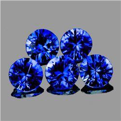 Natural Intense AAA Blue Sapphire [Flawless-VVS]