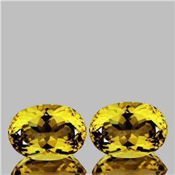 Natural AAA Golden Yellow Citrine 16x12 MM - FL