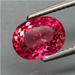 Natural Top Pink Tourmaline 2.30 Carats