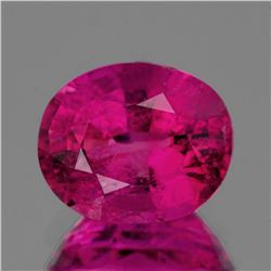Natural Pink Red Rubellite 9x8 mm {2.63 cts}