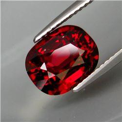 Natural Red Rhodolite Garnet 4.01 Cts - Untreated