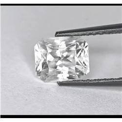 Natural Ceylon White Sapphire 10.30 Cts - VVS1