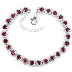Natural Pigeon Blood Red Ruby Bracelet